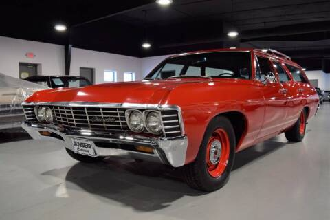 1967 Chevrolet Bel Air for sale at Jensen's Dealerships in Sioux City IA