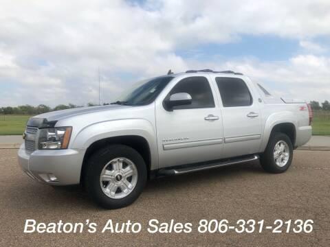 2013 Chevrolet Avalanche for sale at Beaton's Auto Sales in Amarillo TX