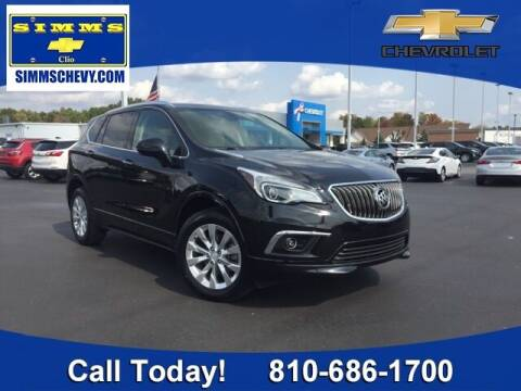 2017 Buick Envision for sale at Aaron Adams @ Simms Chevrolet in Clio MI