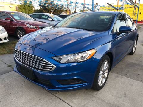2017 Ford Fusion for sale at Plaza Auto Sales in Los Angeles CA