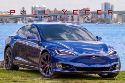 2020 Tesla Model S for sale at PAUL YODER AUTO SALES INC in Sarasota FL