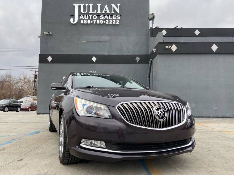 2014 Buick LaCrosse for sale at Julian Auto Sales, Inc. in Warren MI