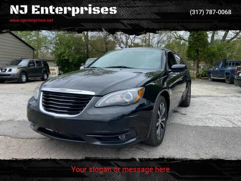 2014 Chrysler 200 for sale at NJ Enterprises in Indianapolis IN