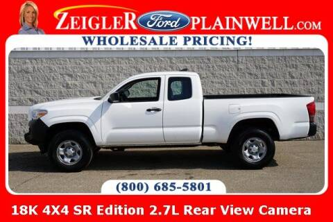 2016 Toyota Tacoma for sale at Zeigler Ford of Plainwell- Jeff Bishop in Plainwell MI