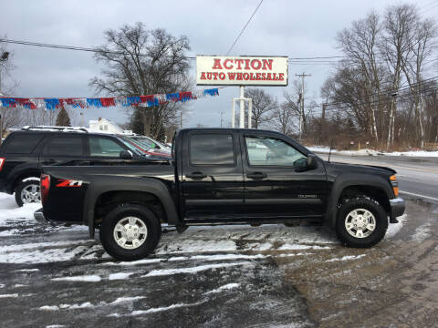 2005 Chevrolet Colorado for sale at Action Auto Wholesale in Painesville OH