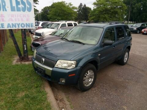 2005 Mercury Mariner for sale at Continental Auto Sales in White Bear Lake MN