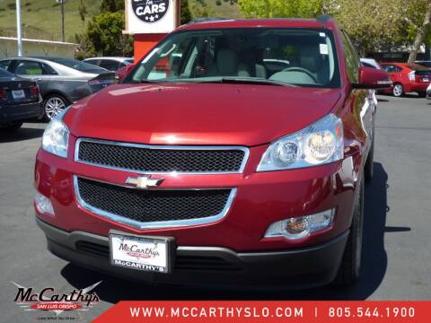 2010 Chevrolet Traverse for sale at McCarthy Wholesale in San Luis Obispo CA