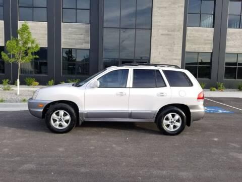 2005 Hyundai Santa Fe for sale at FRESH TREAD AUTO LLC in Springville UT