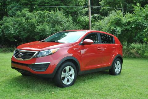 2012 Kia Sportage for sale at Or Best Offer Motorsports in Columbus OH