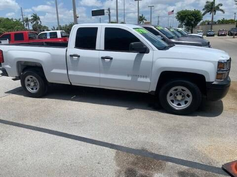 2014 Chevrolet Silverado 1500 for sale at DAN'S DEALS ON WHEELS AUTO SALES, INC. in Davie FL