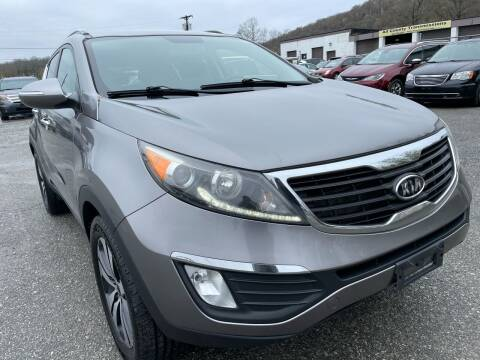 2011 Kia Sportage for sale at Ron Motor Inc. in Wantage NJ