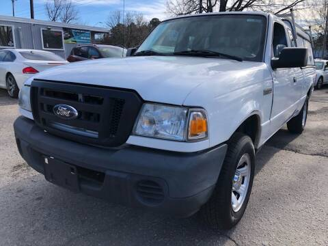 2011 Ford Ranger for sale at Atlantic Auto Sales in Garner NC