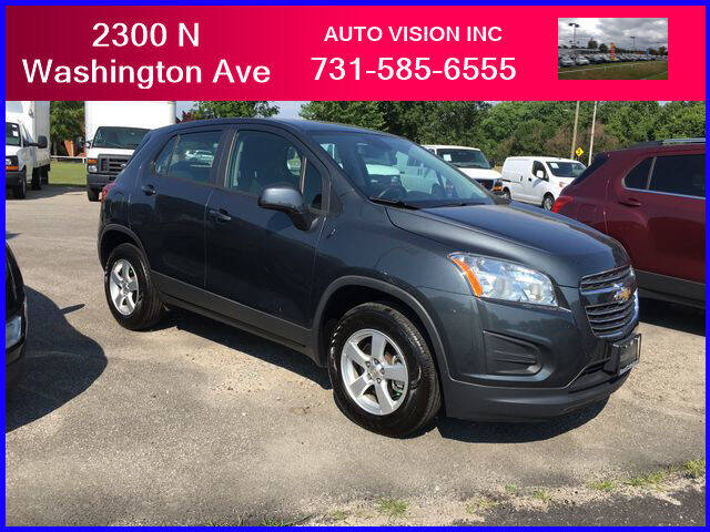 2016 Chevrolet Trax for sale at Auto Vision Inc. in Brownsville TN