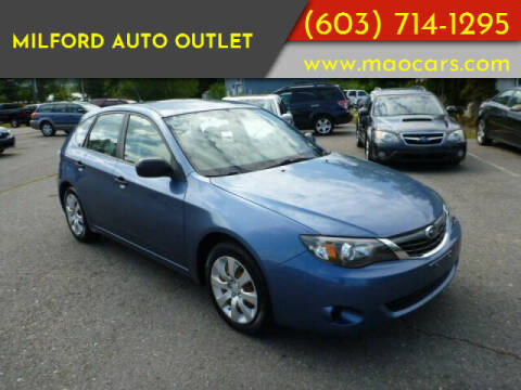 2008 Subaru Impreza for sale at Milford Auto Outlet in Milford NH
