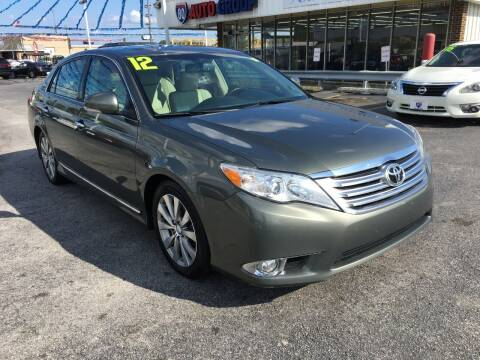 2012 Toyota Avalon for sale at I-80 Auto Sales in Hazel Crest IL