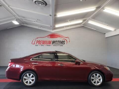 2008 Lexus ES 350 for sale at Premium Motors in Villa Park IL