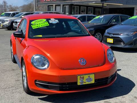 2016 Volkswagen Beetle for sale at Milford Auto Mall in Milford MA