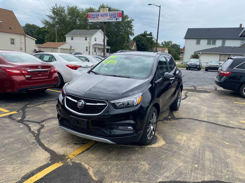 2019 Buick Encore for sale at Dream Auto Sales in South Milwaukee WI