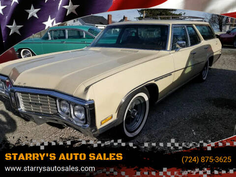 1970 Buick Estate Wagon for sale at STARRY'S AUTO SALES in New Alexandria PA