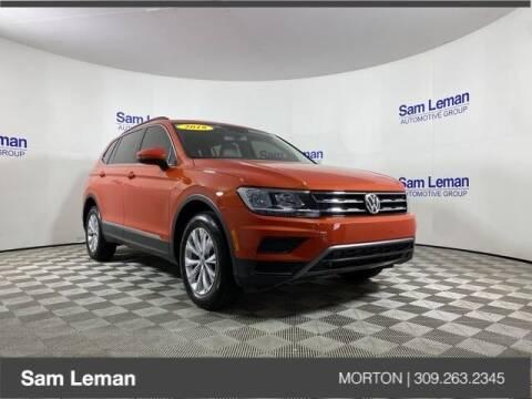 2018 Volkswagen Tiguan for sale at Sam Leman CDJRF Morton in Morton IL