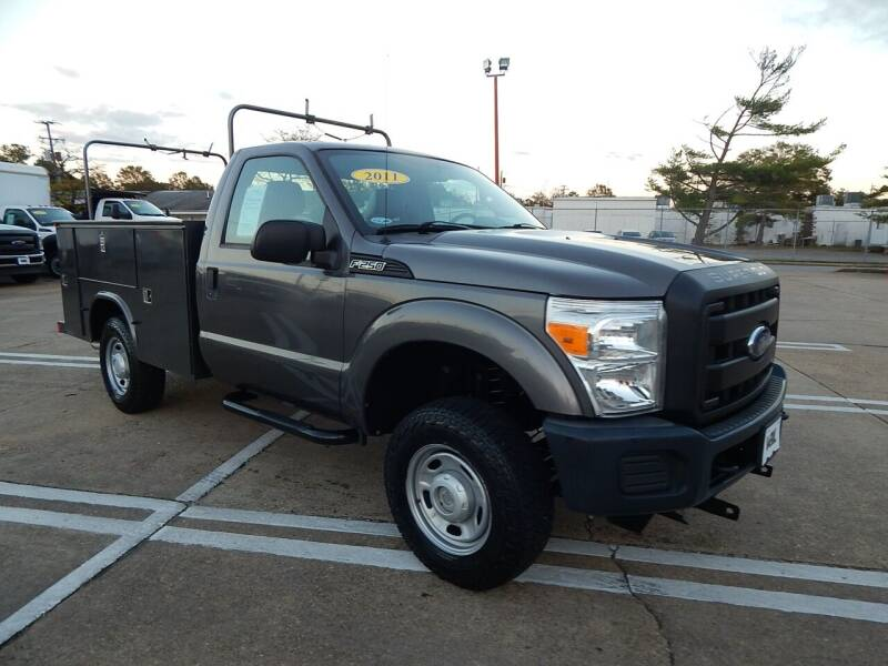 2011 Ford F-250 Super Duty for sale at Vail Automotive in Norfolk VA