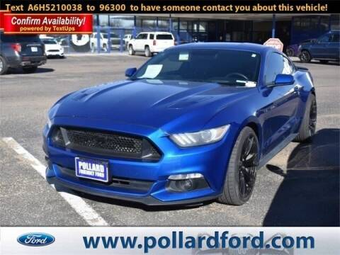 2017 Ford Mustang for sale at South Plains Autoplex by RANDY BUCHANAN in Lubbock TX