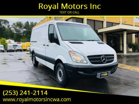 2013 Mercedes-Benz Sprinter Cargo for sale at Royal Motors Inc in Kent WA
