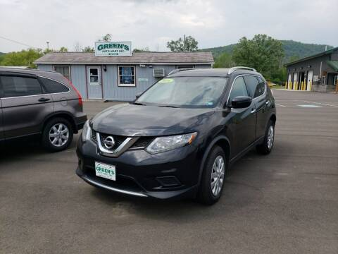 2016 Nissan Rogue for sale at Greens Auto Mart Inc. in Wysox PA