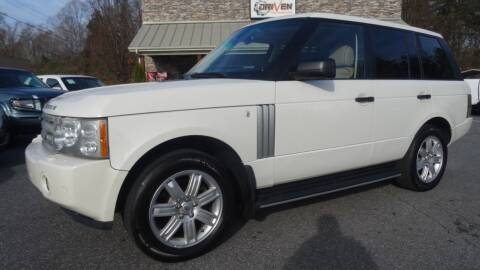 2008 Land Rover Range Rover for sale at Driven Pre-Owned in Lenoir NC