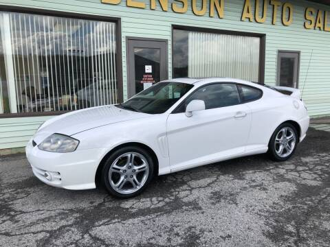 2003 Hyundai Tiburon for sale at Superior Auto Sales in Duncansville PA