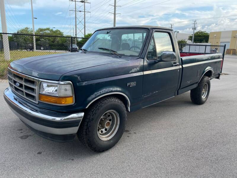 1995 Ford F-150 for sale at Ultimate Dream Cars in Wellington FL