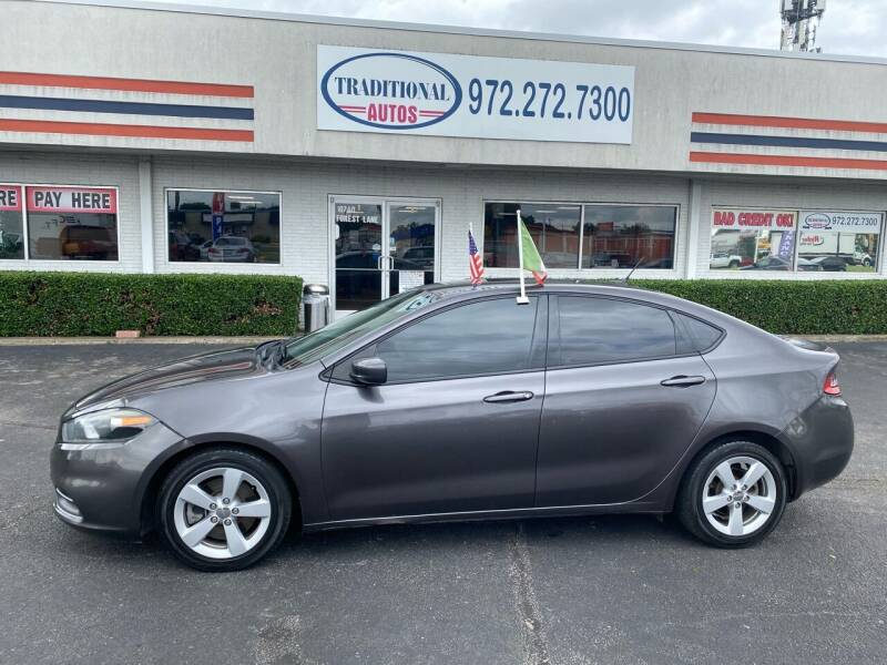 2015 Dodge Dart for sale at Traditional Autos in Dallas TX
