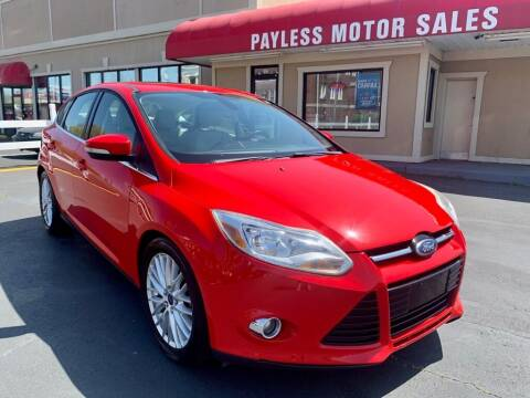 2012 Ford Focus for sale at Payless Motor Sales LLC in Burlington NC