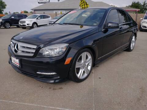 2011 Mercedes-Benz C-Class for sale at Triangle Auto Sales in Omaha NE