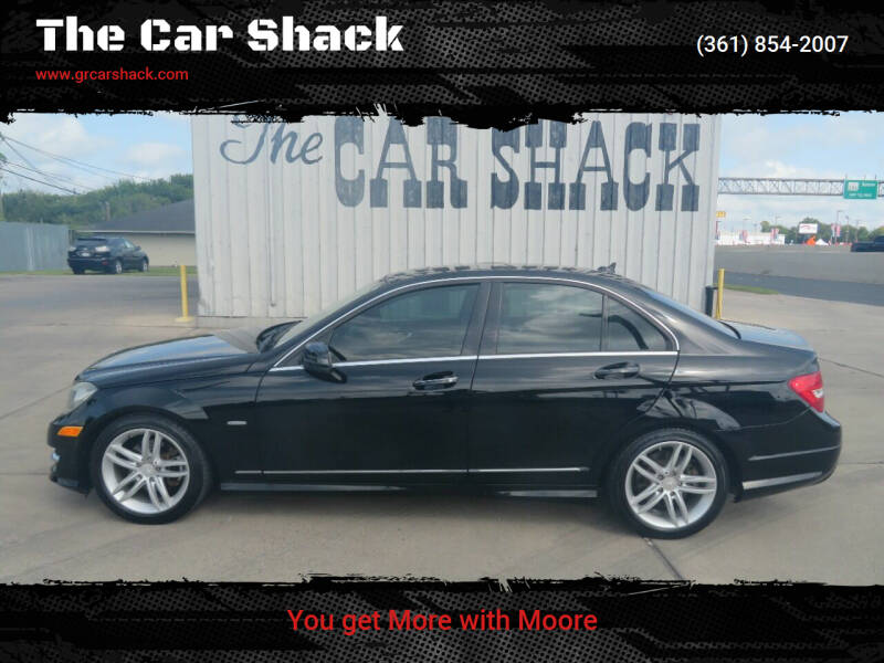 2012 Mercedes-Benz C-Class for sale at The Car Shack in Corpus Christi TX