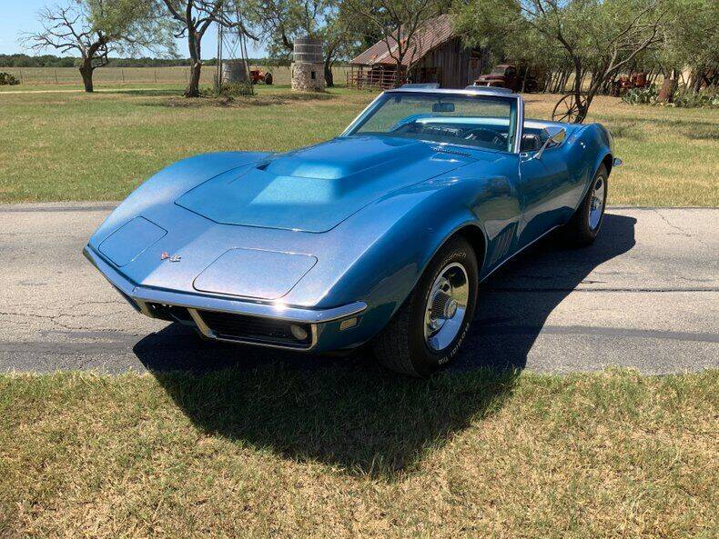 1968 Chevrolet Corvette for sale at STREET DREAMS TEXAS in Fredericksburg TX