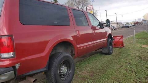 2000 Ford Excursion for sale at Affordable 4 All Auto Sales in Elk River MN