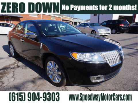 2012 Lincoln MKZ for sale at Speedway Motors in Murfreesboro TN