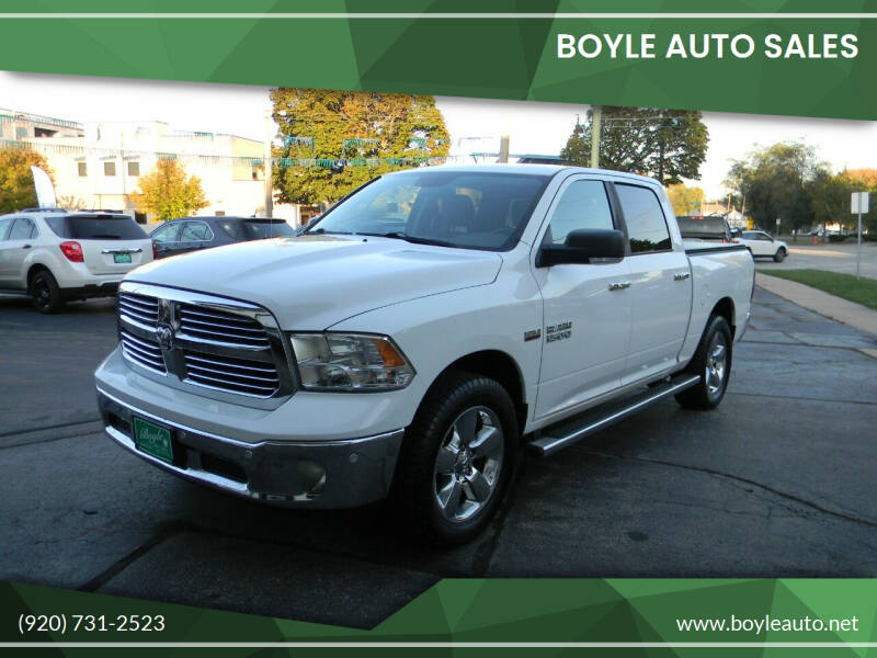 2015 RAM Ram Pickup 1500 for sale at Boyle Auto Sales in Appleton WI