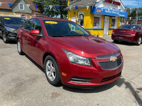 2011 Chevrolet Cruze for sale at C & M Auto Sales in Detroit MI