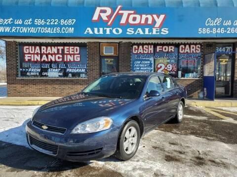 2007 Chevrolet Impala for sale at R Tony Auto Sales in Clinton Township MI