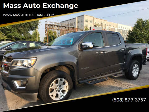 2016 Chevrolet Colorado for sale at Mass Auto Exchange in Framingham MA