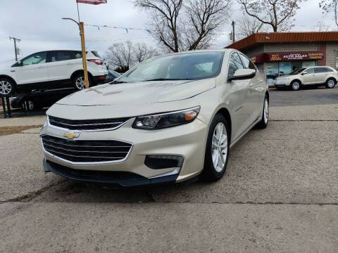 2016 Chevrolet Malibu for sale at Lamarina Auto Sales in Dearborn Heights MI