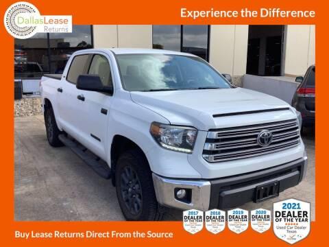 2021 Toyota Tundra for sale at Dallas Auto Finance in Dallas TX