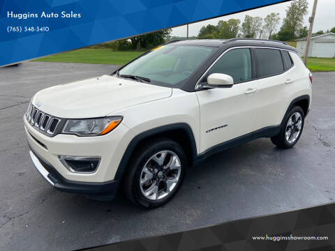2018 Jeep Compass for sale at Huggins Auto Sales in Hartford City IN
