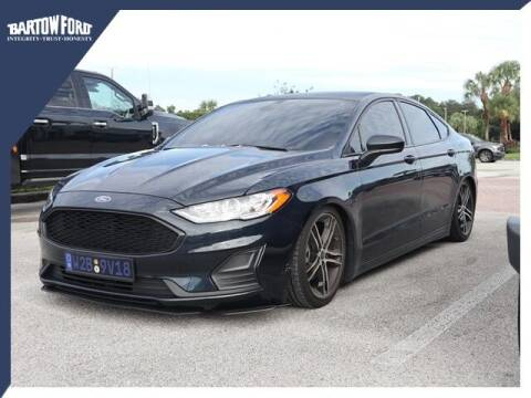2020 Ford Fusion for sale at BARTOW FORD CO. in Bartow FL