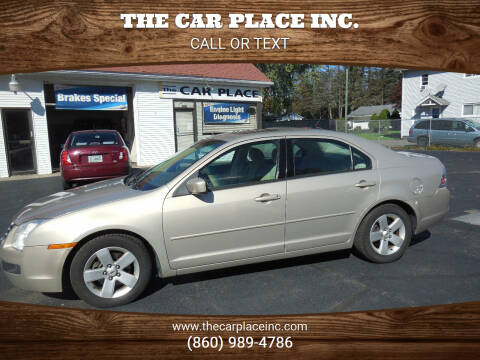 2008 Ford Fusion for sale at THE CAR PLACE INC. in Somersville CT