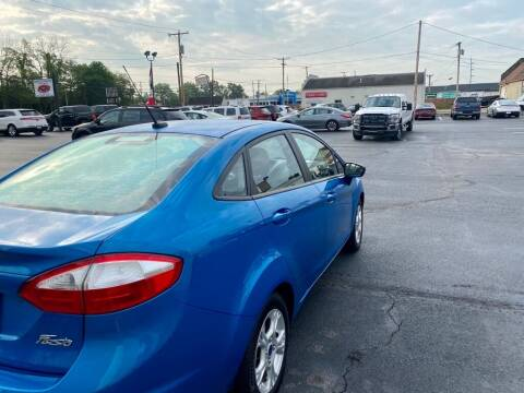 2014 Ford Fiesta for sale at Used Car Factory Sales & Service Troy in Troy OH