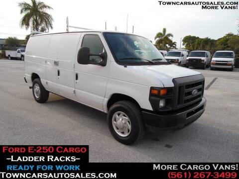 2010 Ford E-250 for sale at Town Cars Auto Sales in West Palm Beach FL