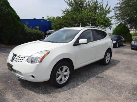2008 Nissan Rogue for sale at HOUSTON'S BEST AUTO SALES in Houston TX